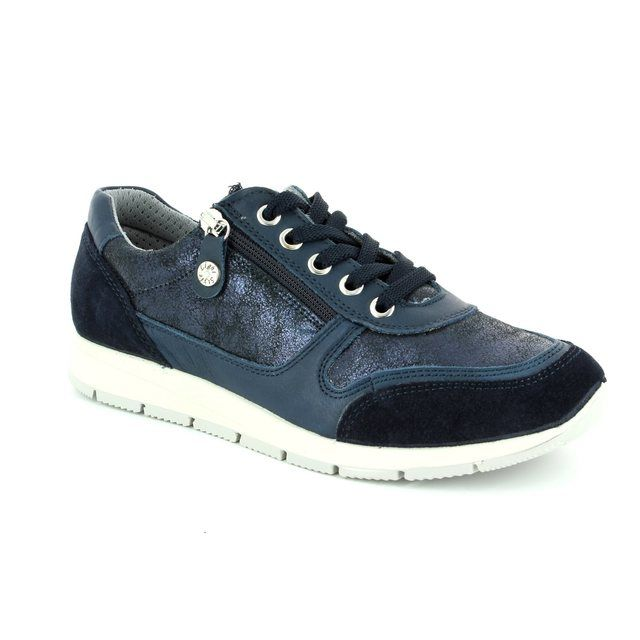 IMAC Lacing Shoes - Navy patent-suede - 72261/1408000 EDITH  71