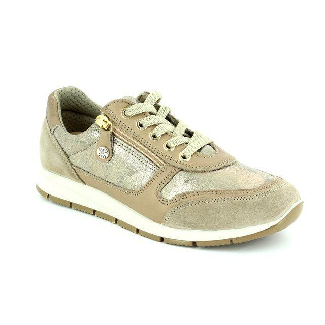 IMAC Lacing Shoes - Beige patent-suede - 72261/1408101 EDITH  71