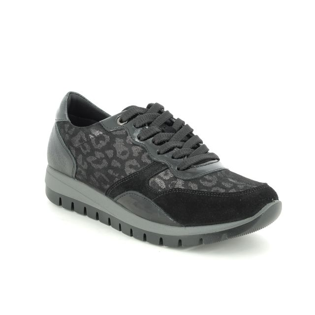 IMAC Trainers - Black leather - 8260/54085011 ELLEN