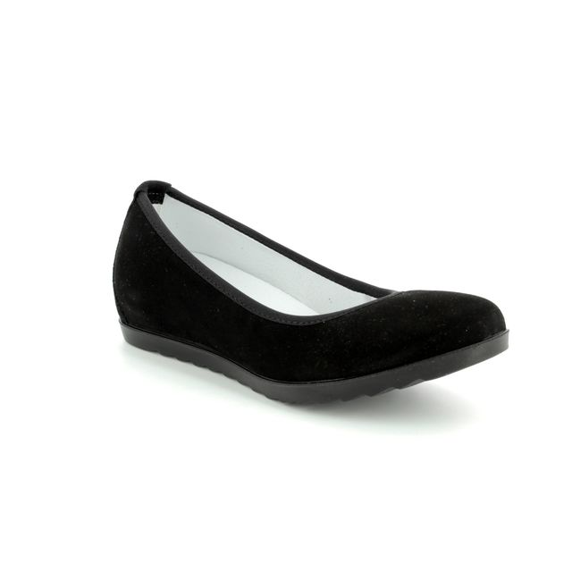 IMAC Wedge Shoes - Black - 105421/592011 EMY