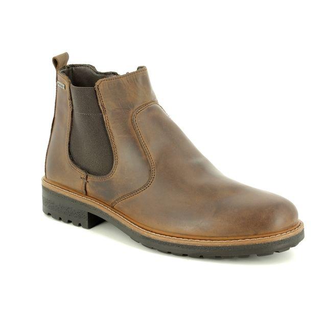 IMAC Chelsea Boots - Brown waxy leather - 3288/3472017 FREDDY TEX HI