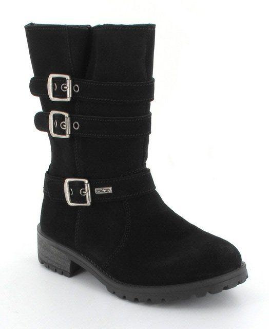 IMAC Gipsytex 23968-7000011 Black suede or snake boots