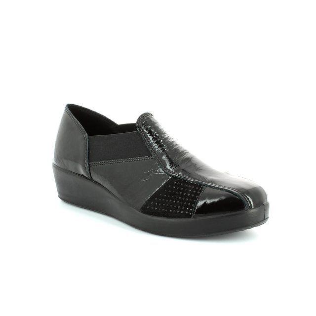 IMAC Comfort Shoes - Black patent suede - 42490/4200011 GLAM