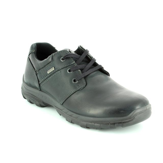 IMAC Gordon Tex 62 61288-3500011 Black waxy casual shoes