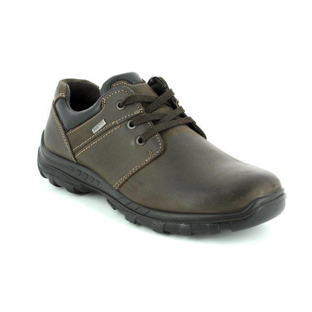 IMAC Gordon Tex 62 61288-3503017 Brown waxy casual shoes