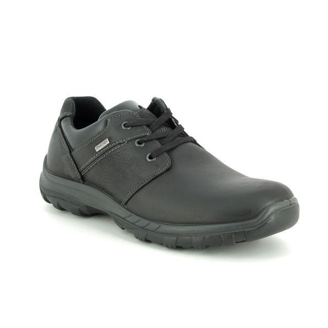 IMAC Formal Shoes - Black leather - 3018/3500011 GORDON TEX 85