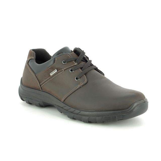 IMAC Casual Shoes - Brown leather - 3018/3503017 GORDON TEX 85