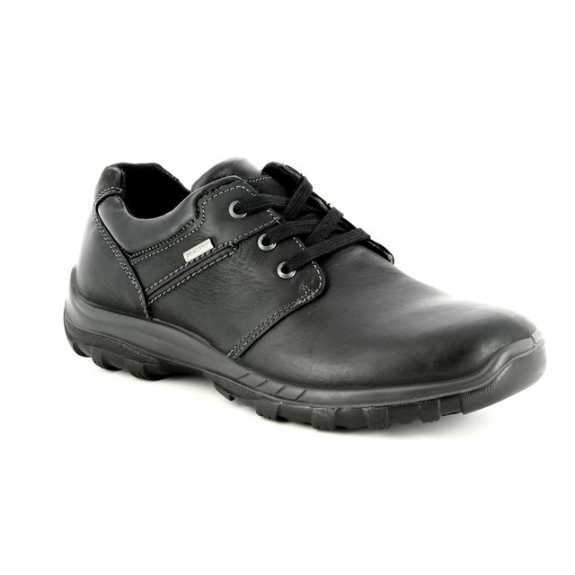 IMAC Casual Shoes - Black leather - 3018/3500011 GORDON TEX 85