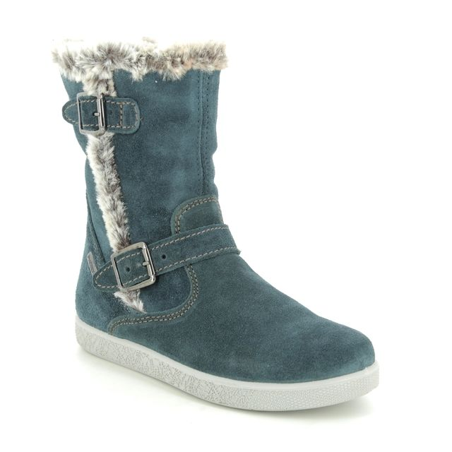 IMAC Boots - Navy suede - 0028/7030013 HOLLY FUR TEX