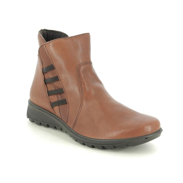 IMAC Ankle Boots - Tan Leather - 7520/54176017 KAREN BOOT