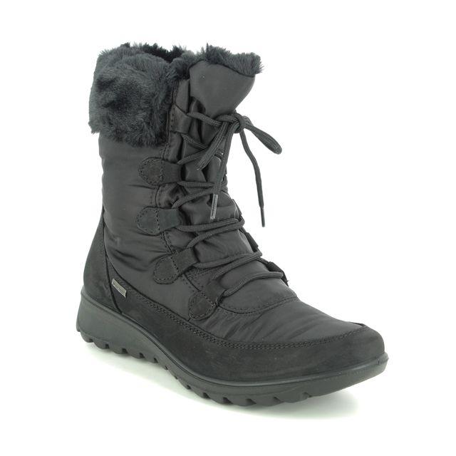 IMAC Winter Boots - Black suede - 7508/30050011 KAREN  TEX