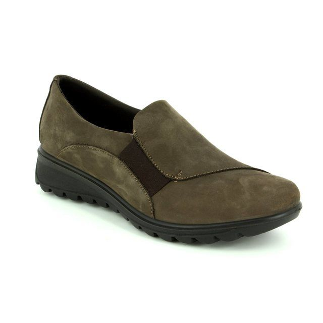 IMAC Comfort Shoes - Taupe nubuck - 82680/3005301 KARENA