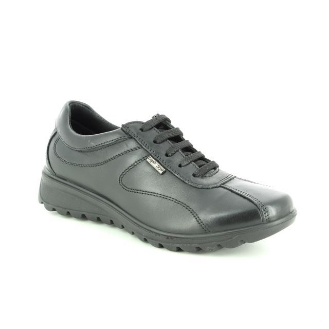 IMAC Lacing Shoes - Black leather - 7870/1400011 KARENAL