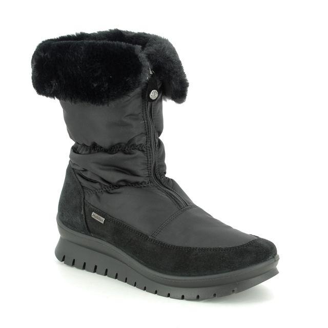 IMAC Winter Boots - Black Suede - 8059/7150011 KIA TEX