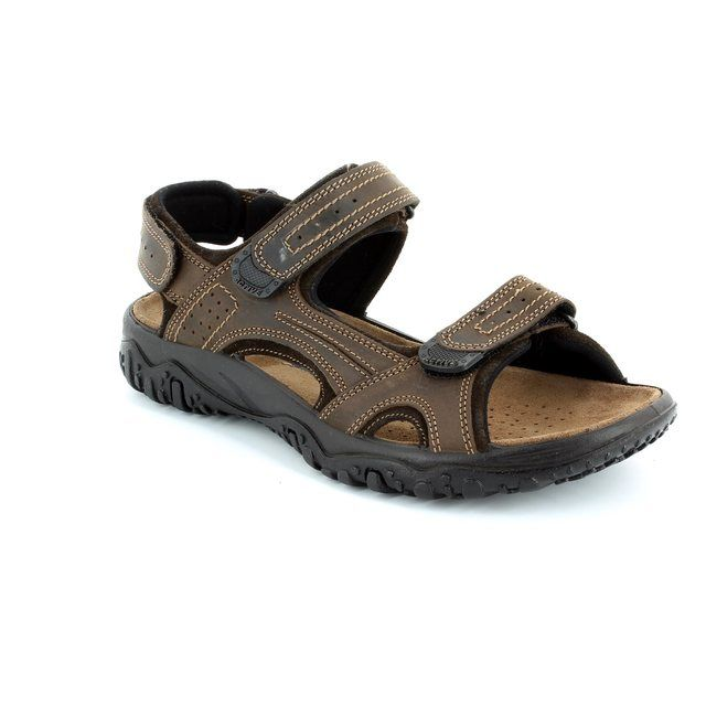 IMAC Pacific 51420-3403017 Brown sandals