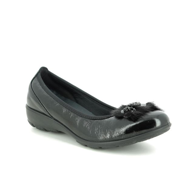 IMAC Pumps - Black patent - 7060/4200011 PENNY  FUR