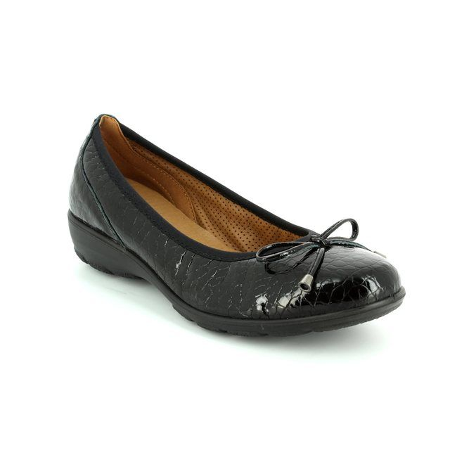 IMAC Pennybow 71780-4450011 Black croc pumps