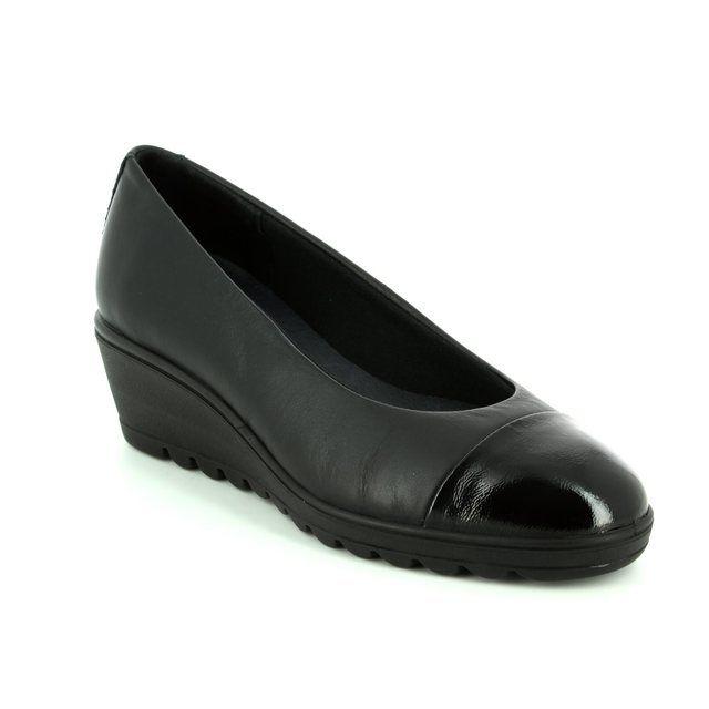 IMAC Wedge Shoes - Black patent - 82840/1400011 ROXANCO