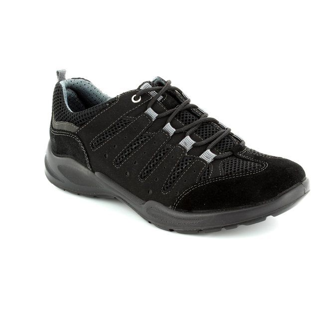 IMAC Runner 52501-7000011 Black lacing shoes