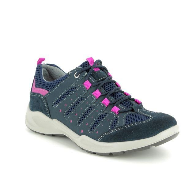 IMAC Runner 7650-7030009 Navy Walking Shoes