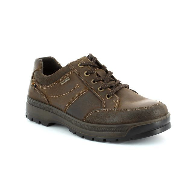 IMAC Trekker Tex 41428-3474017 Brown waxy casual shoes