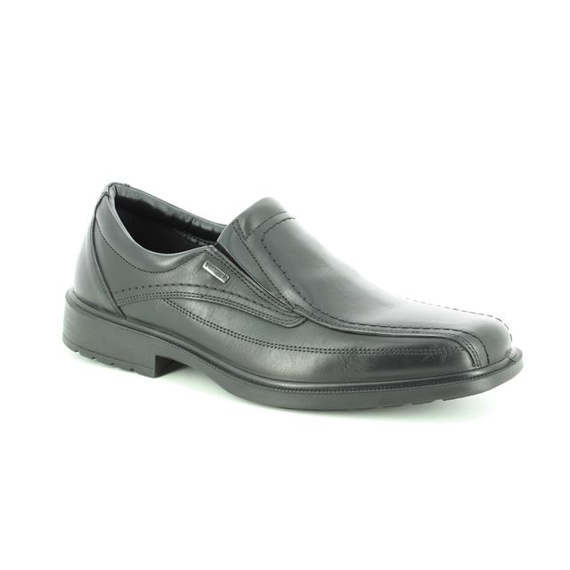 IMAC Casual Shoes - Black leather - 0138/1968011 URBAN SLIP TEX