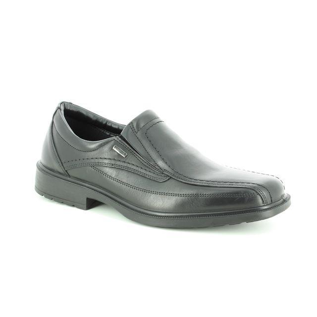 IMAC Formal Shoes - Black leather - 0138/1968011 URBAN SLIP TEX
