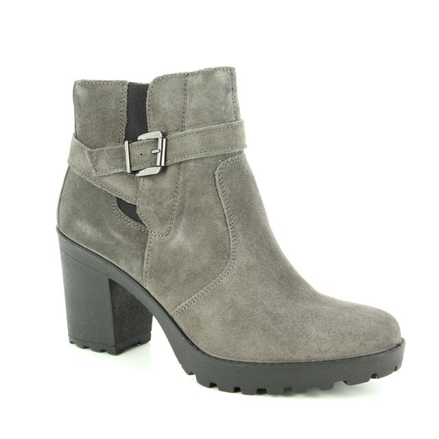 IMAC Ankle Boots - Grey-suede - 7731/7170018 VICKY