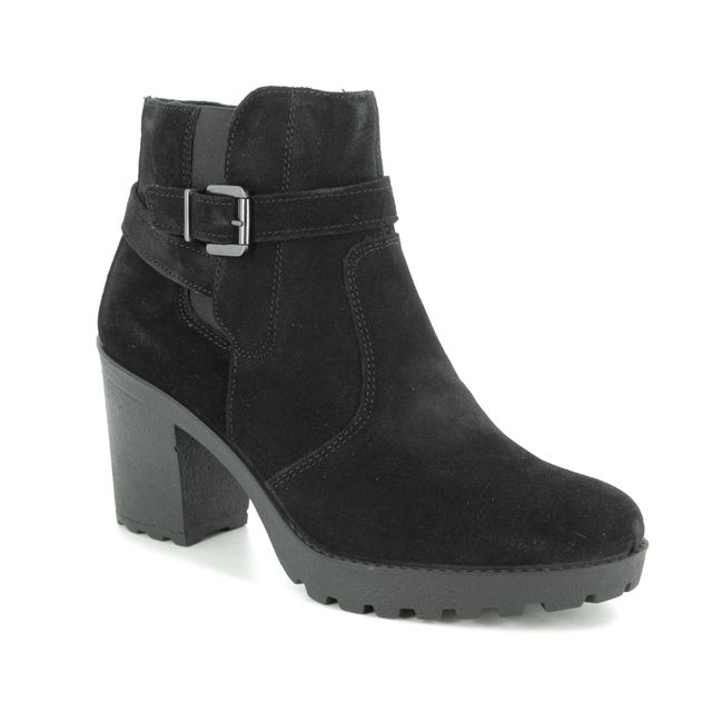 IMAC Ankle Boots - Black suede - 8401/7150011 VICKY