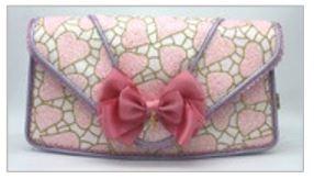 Irregular Choice Matching Handbag - Pink - B100-03A COLA CUBES BAG