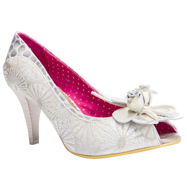 Irregular Choice High-heeled Shoes - Off white - 5116-50C CONCHA BEACH