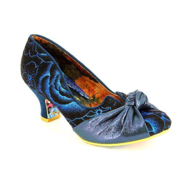 Irregular Choice Dazzle Pants 4136-34I Blue multi high-heeled shoes