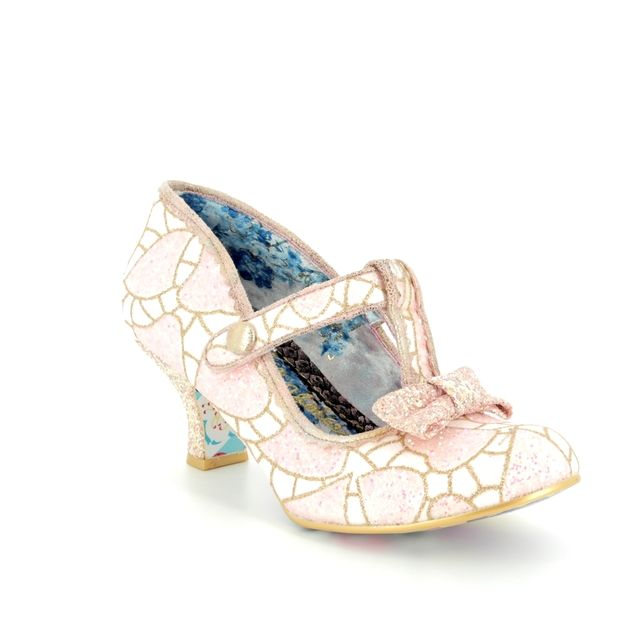 Irregular Choice High-heeled Shoes - Pink multi - 4136-12L LAZY RIVER