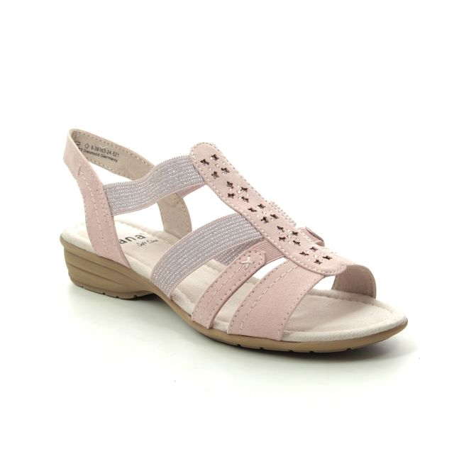 Jana Comfortable Sandals - ROSE  - 28163/24521 ELEAJANA 1 H FIT