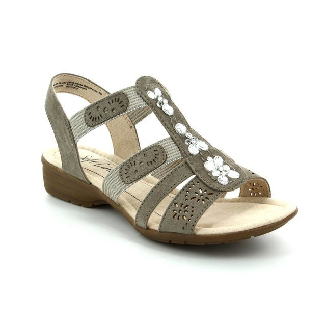 Jana Eleajana 28163-347 Light taupe sandals