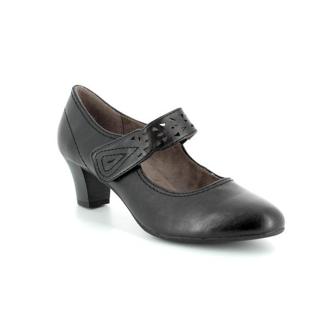 Jana Messi 81 24462-20-001 Black heeled shoes