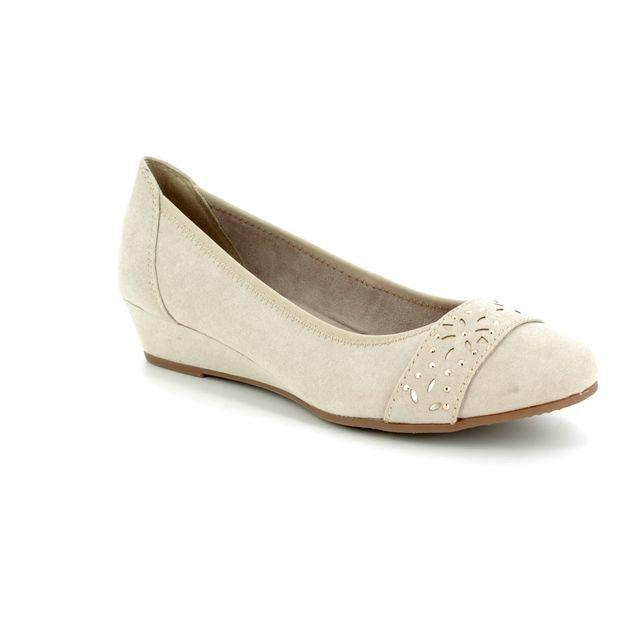 Jana Wedge Shoes - Beige - 22260/20/405 MIRAJA 81