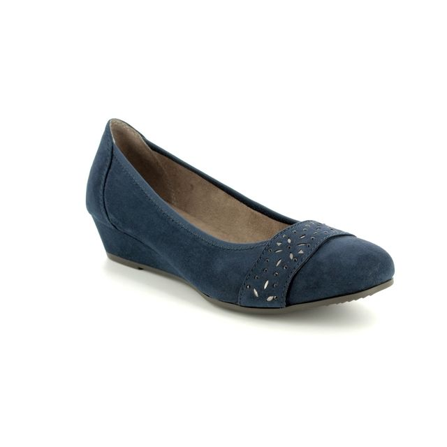 Jana Wedge Shoes - Navy - 22260/20/805 MIRAJA 81