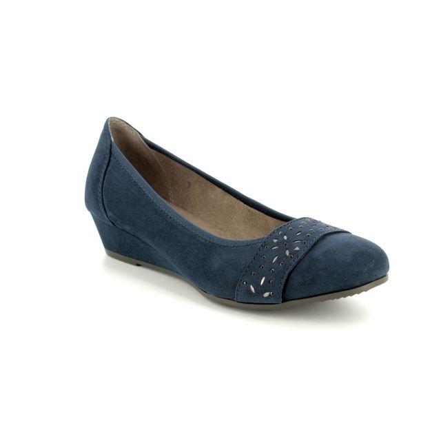 Jana Wedge Shoes - Navy - 22260/20/805 MIRAJA 81