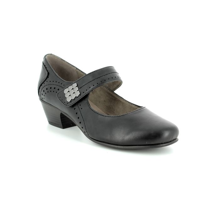 Jana Heeled Shoes - Black - 24361/20/001 NEMEA