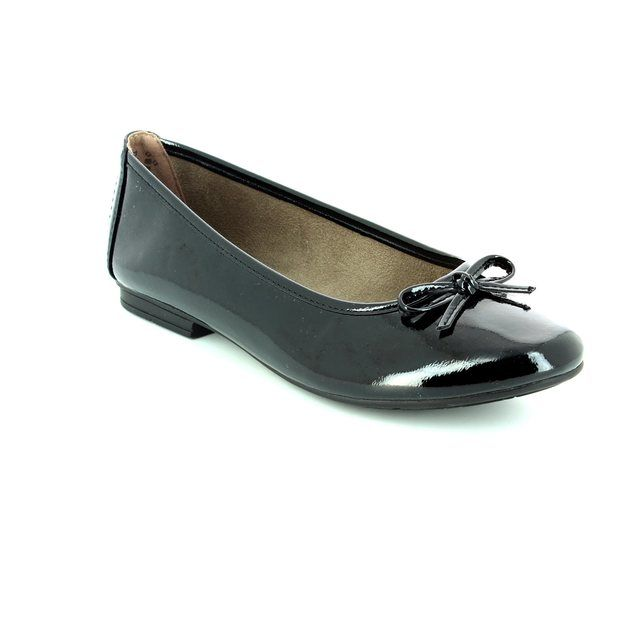 Jana Pumps - Black patent - 22163/018 PANAMA