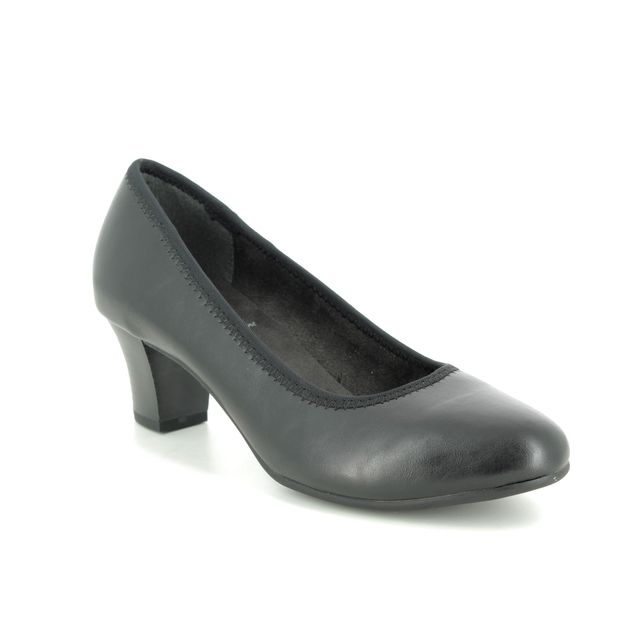 Jana Heeled Shoes - Black - 22463/24001 SALLY 1 H FIT