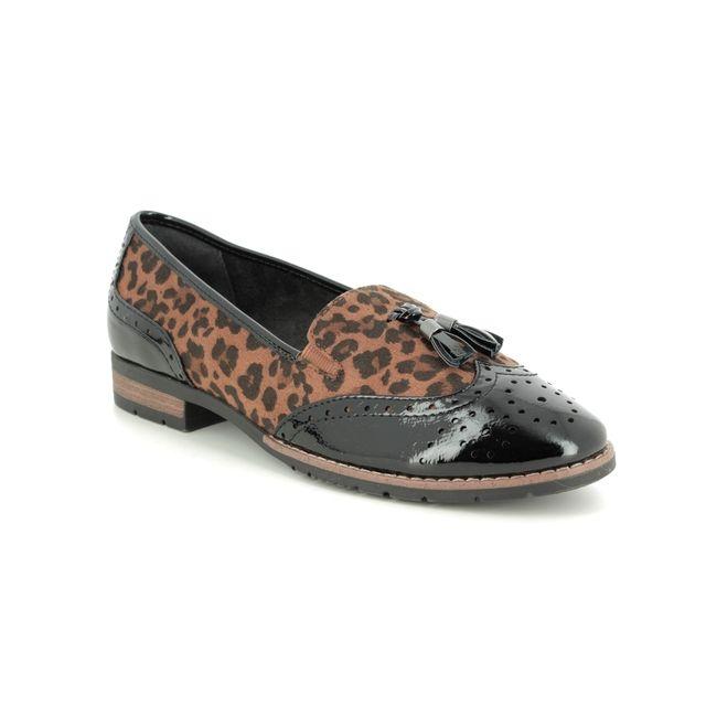 Jana Loafers - Leopard print - 24260/23920 TASSLE 95 H FIT