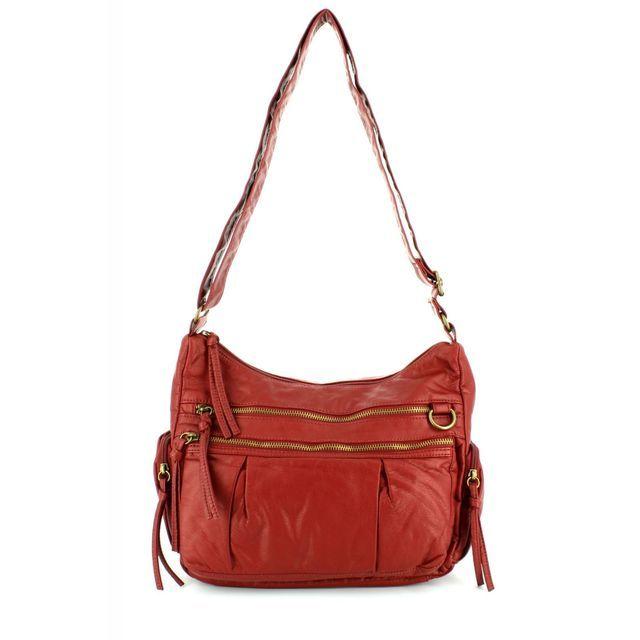 JEWN Ghn 5393 5393-08 Dark Red handbag