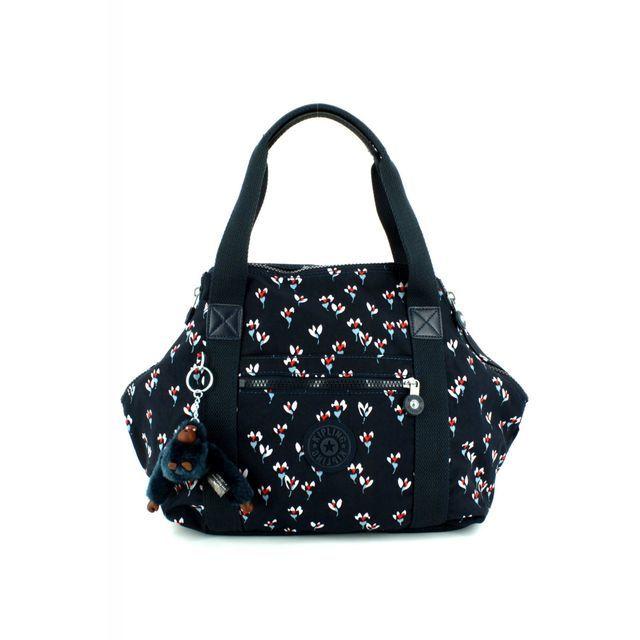 Kipling ART S Navy multi handbag