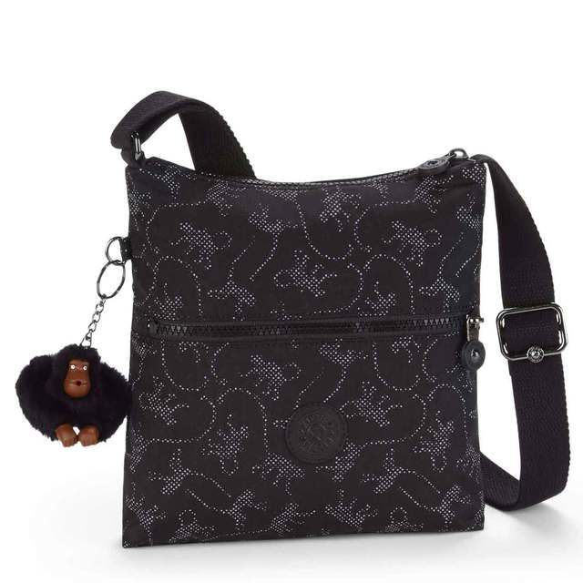 Kipling Handbag - Black multi - 12483/30 K124833 ZAMOR