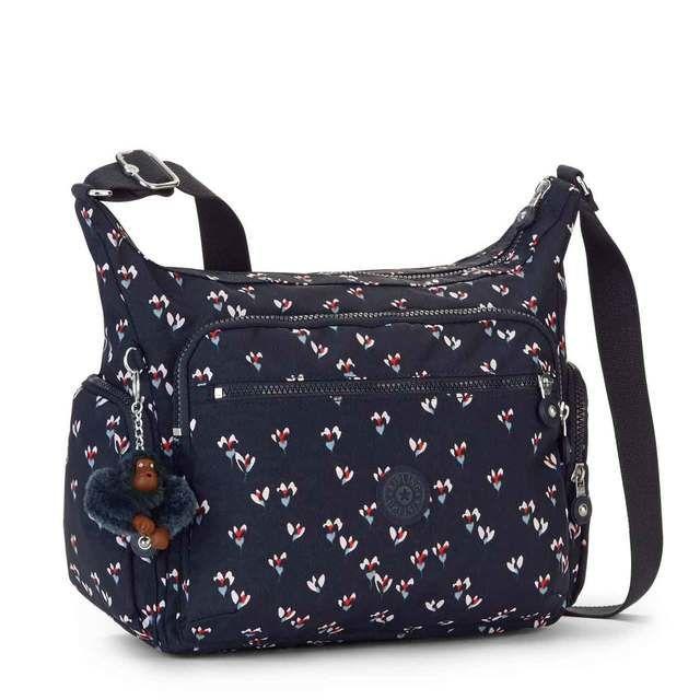 Kipling GABBIE Navy multi handbag