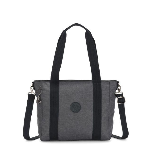 Kipling S Charcoal handbag