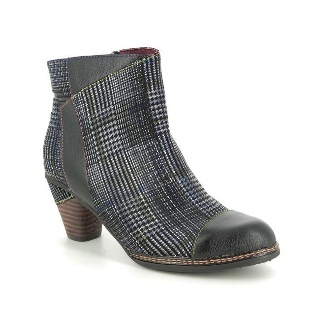 Laura Vita Ankle Boots - Black leather - 9505/30 ALCIZEEO 06
