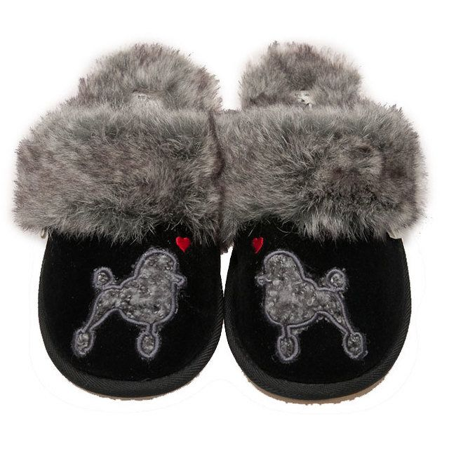 Lazy Dogz Slipper Mules - Black - 1006/30 COCO